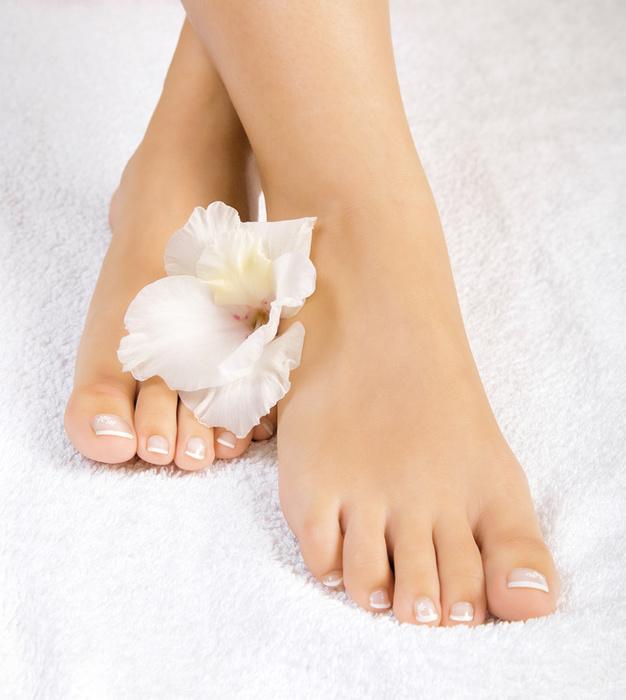 Frau schöne Füße